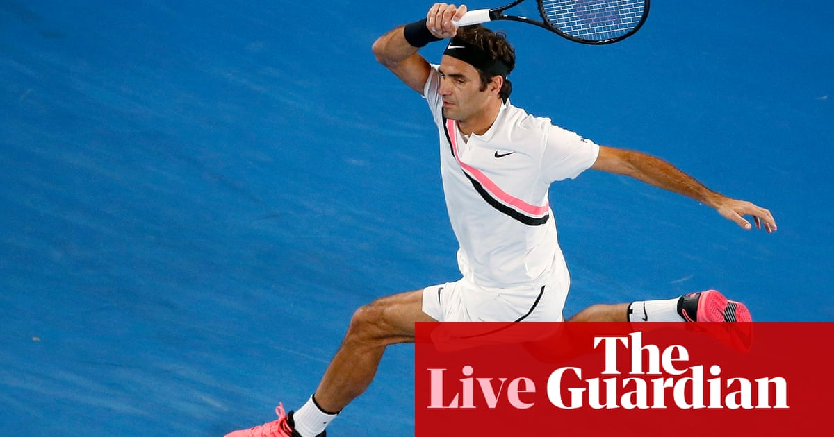 6e328939f2c6 Roger Federer into Australian Open final as Hyeon Chung retires hurt – as  it happened