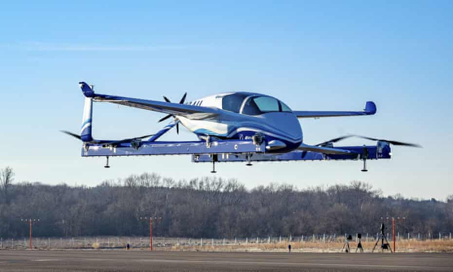 Boeing's prototype 'flying car' is part of a project aimed at personal automated air transport.