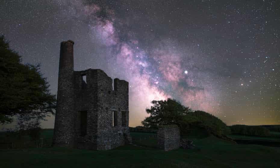 Celestial bodies: a beautiful night sky in Exmoor.