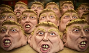 Masks of Donald Trump