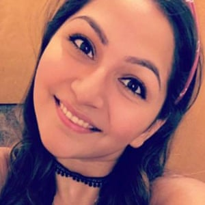 Angela Gomez. A victim of the Las Vegas mass shooting on 2 October 2017