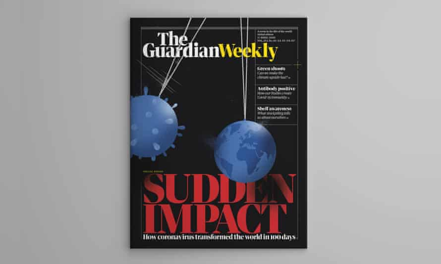 The cover of the 17 April edition of Guardian Weekly.