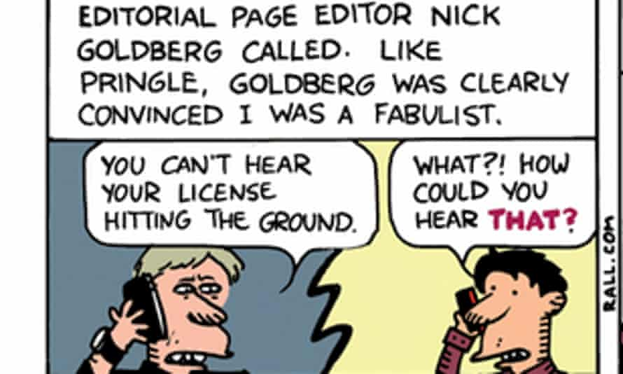 ted rall los angeles times lapd