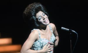 Shirley Bassey, the first to swap 'man' for 'woman'.
