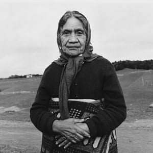 An image from the Māori series by Marti Friedlander.