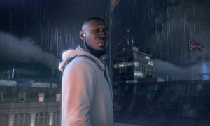 Stormzy, the game version: he stars as himself in the game Watch Dogs: Legion.