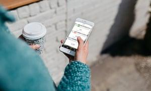 The mobile app of Sweden-based online retail platform Tictail.