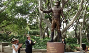 A statue of Governor Lachlan Macquarie