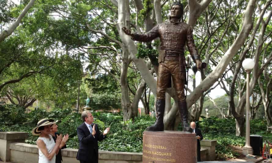 Statue of governor Lachlan Macquarie