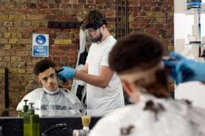 Pasha barber in Stoke Newington