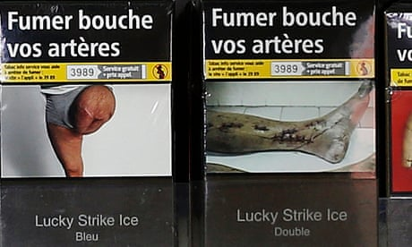Amputated leg image on tobacco warning 'used without consent'