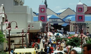 A market in Windhoek, Namibia.
