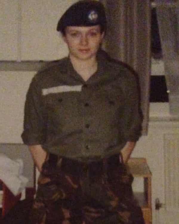 Rebecca Crookshank in her RAF days