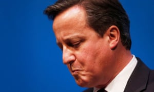 'The man who put his country through years of polarising trauma': David Cameron during the closing days of the Scottish referendum, September 2014
