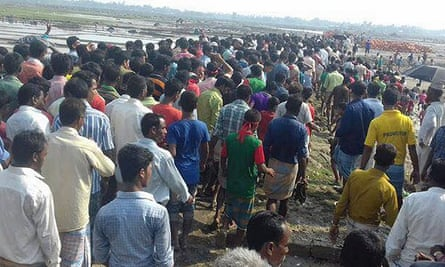 Around 500 villagers gathered in Gandamara, a remote coastal town in Chittagong district of Bangladesh, to protest against the construction of two China backed coal-fired power plants that they say will evict thousands from the area.