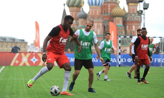 Torneio de refugiados de Moscou lança luz sobre a política de imigração da Rússia