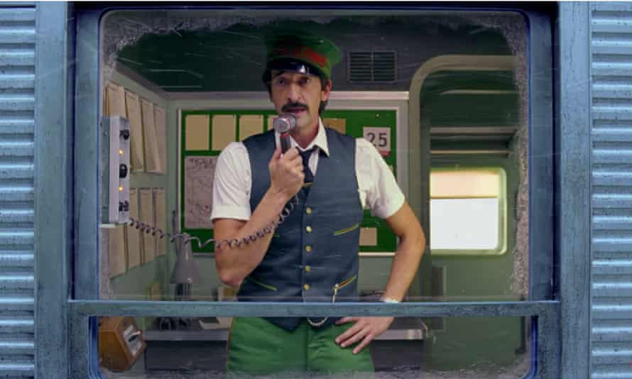 Adrien Brody in Wes Anderson's Come Together