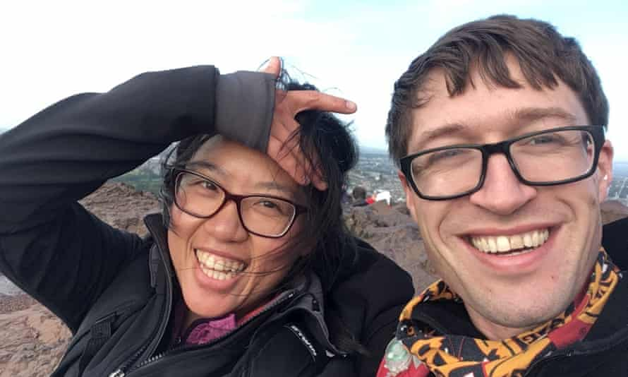 Dawn Liu and Angus Holford