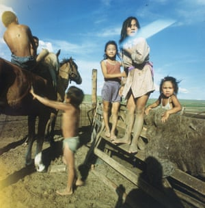 From the Russian Regions series. 1990s' Tuva, 1991