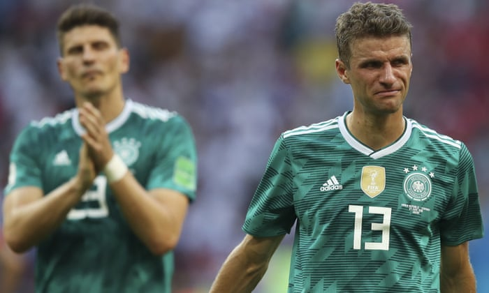 d2ed6c734 Germany crash out of World Cup group stage after defeat by South Korea