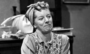 Coronation Street's Hilda Ogden (Jean Alexander) in 1965.