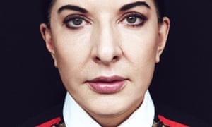 'You have to exhaust your own system of thinking' … Marina Abramović in New York in 2015.