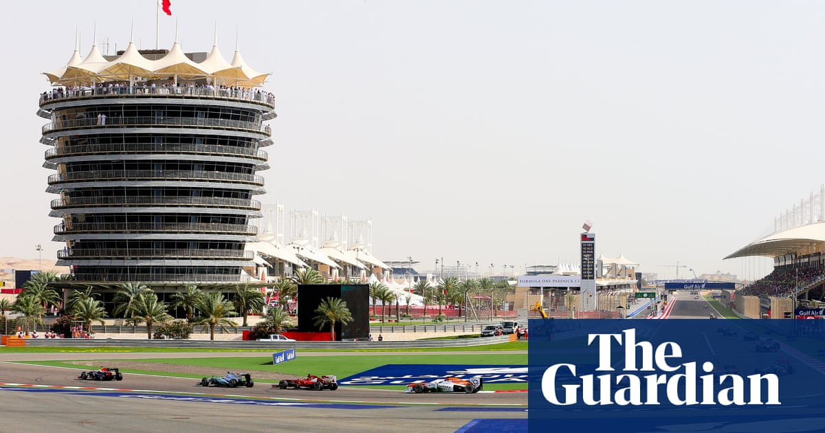 Formula One faces charge of aiding sportwashing by racing in Bahrain