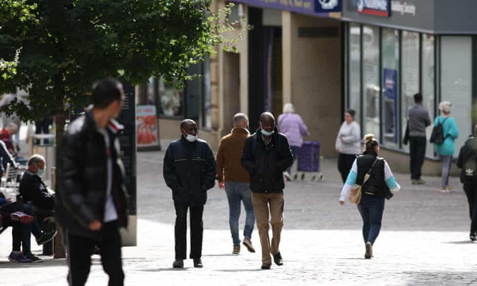 Bradford city centre earlier this month