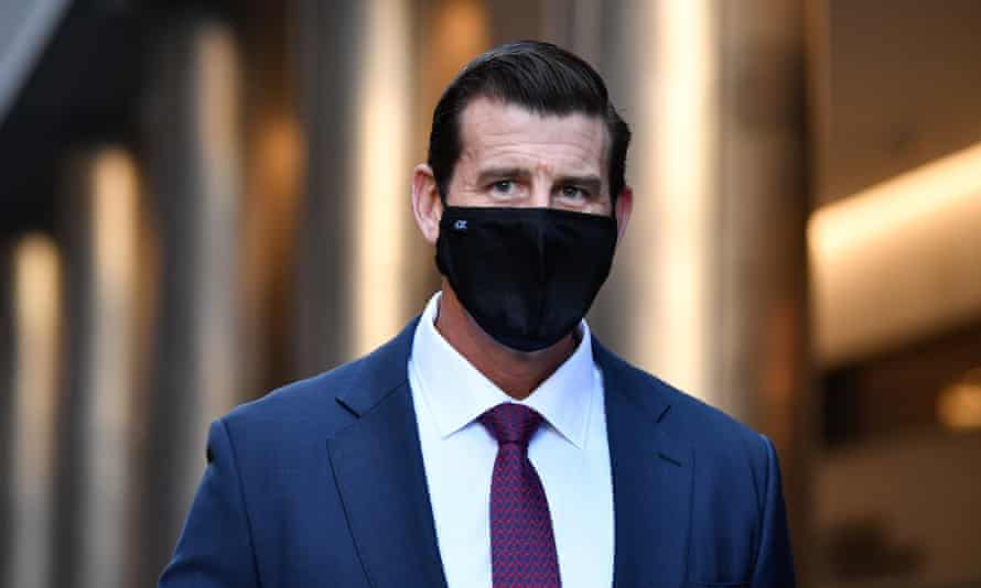 The first Afghan witness in Ben Roberts-Smith defamation trial has told court he saw his uncle's body being dragged into the bush after 'a big soldier' kicked him down a steep embankment.