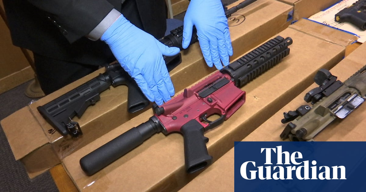 California scrambles to ban 'ghost guns' as untraceable weapons' popularity soars