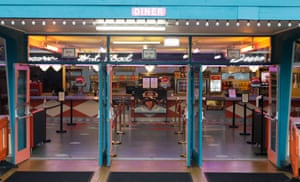The diner at the Skyline Drive-In Blacktown