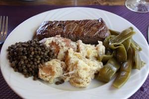 Le Garage Salers steak