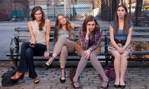 In the beginning ... Allison Williams, Jemima ******ke, Lena Dunham and Zosia Mamet in the first season of Girls.