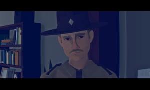 Virginia screengrab: police officer