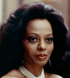 American soul singer and actor Diana Ross on the set of Mahogany