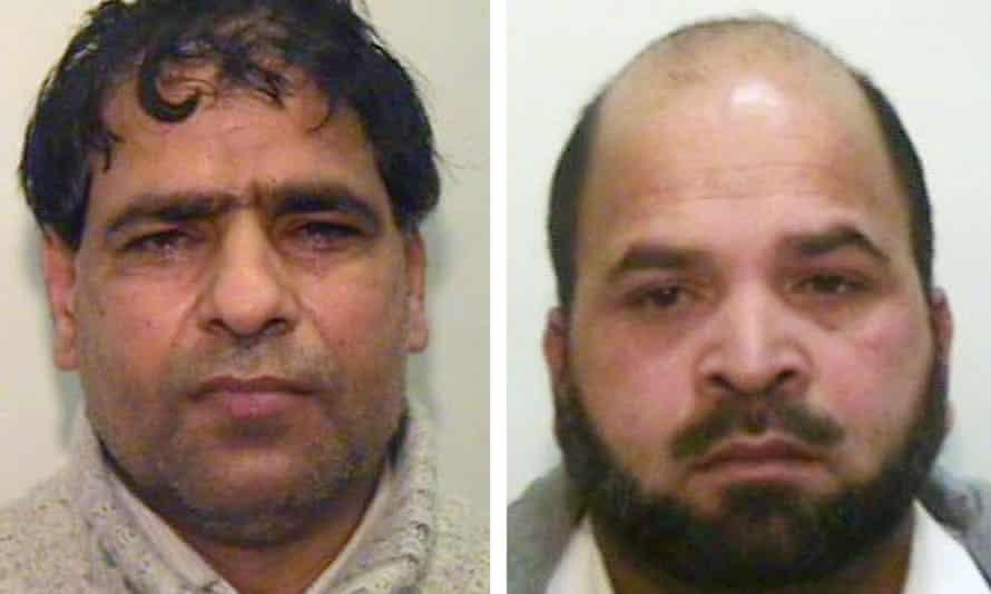 Abdul Aziz (eft) and Abdul Rauf
