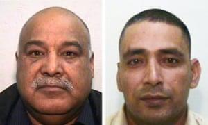 Shabir Ahmed (left) and Adil Khan