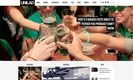 Unliad's website