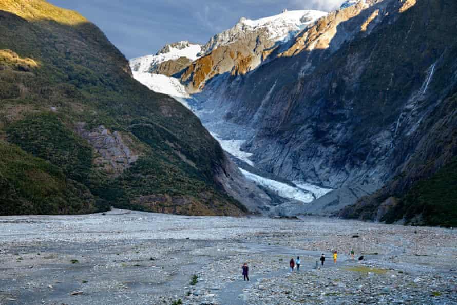 Path to Franz Josef Glacier, New Zealand