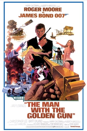 A poster fort The Man with the Golden Gun, 1974