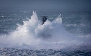 Longships lighthouse just off Land's End