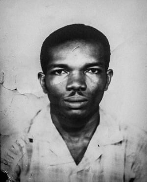 Ivan Anglin's passport photo from the 1960s