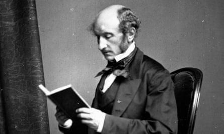 John Stuart Mill: philosopher, author and social reformer, c1858