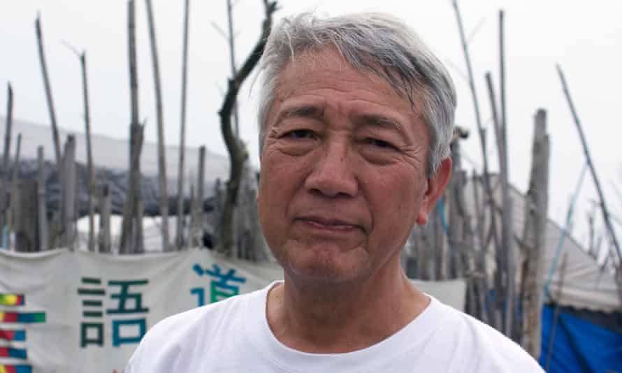 Yoshiharu Ogawa, has campaigning to block Japan's return to nuclear power.