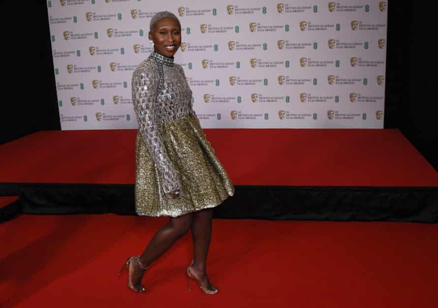 Cynthia Erivo sparkles in Louis Vuitton.