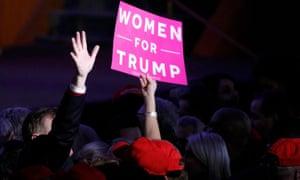 female trump supporter