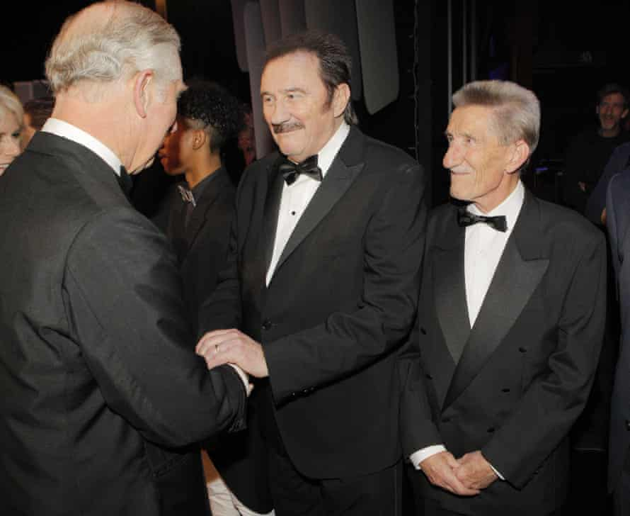 Paul and Barry meeting Prince Charles in 2016.