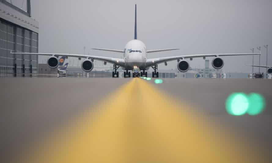 A Lufthansa flight lands in Munich. The airline says a single case of 'hidden city' travel cost them more than €2,000.