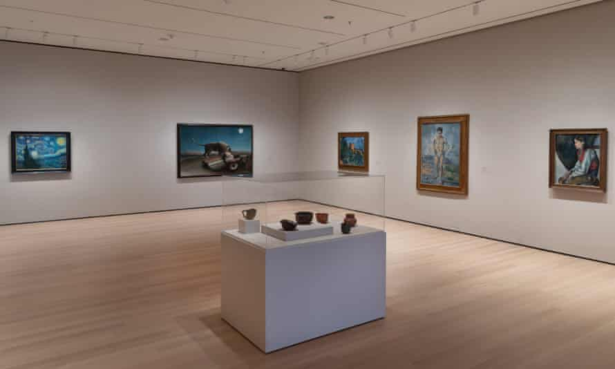Van Gogh, Cézanne and Rousseau now hang near ceramics by the 'mad potter of Biloxi' George Ohr.