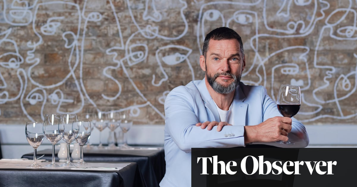 Fred Sirieix: 'I was training to be a chef, but I thought it would kill my soul'